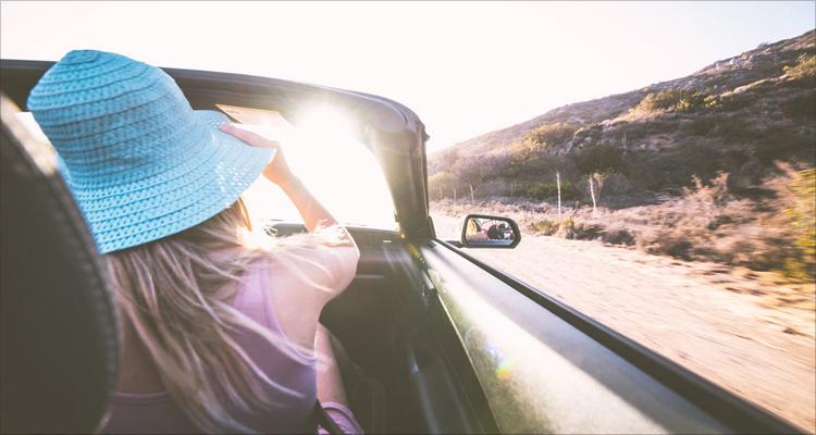 好车与风景图片